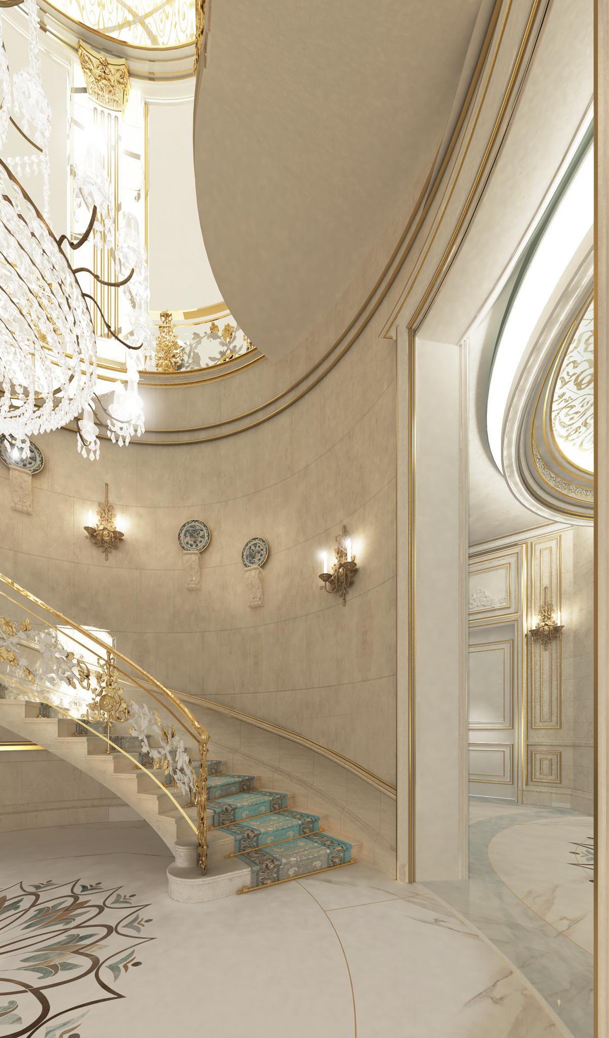Villa Design Ideas -Staircase  Area