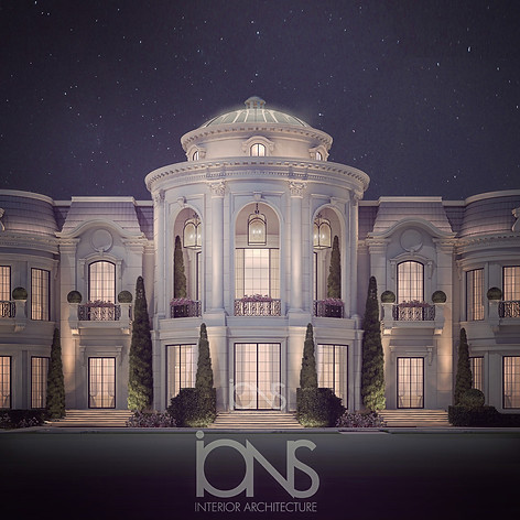 Palace  architecture design Doha Qatar