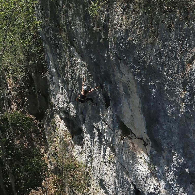 Escalada en Bayahíbe + Cueva de Chicho