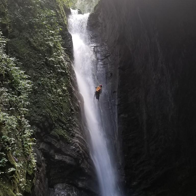 Canyoning La Taína