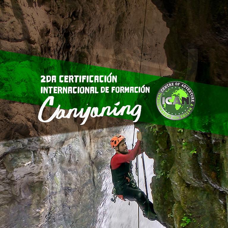 2da Certificación Internacional de Canyoning