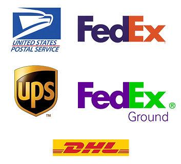 luggeasy, FedEx, fedex ground, dhl, usps, ups
