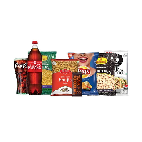 Chakna King-1 (Cold drinks+Chips+ Chocolate+Namkeen+ Peanuts+Hakka Noodles)