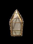 Small Gold Pyramid Lantern