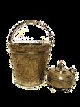Vintage Silver Ice Bucket & Sugar Bowl