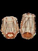 Copper Geo Lanterns