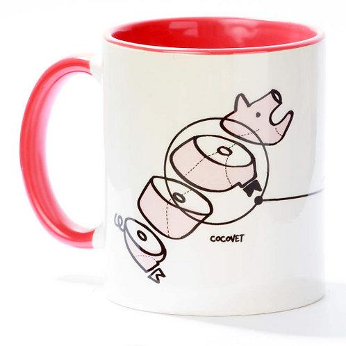Tassa tros de porc