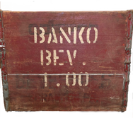 "Vintage ""Banko"" Wooden Box"