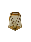 Gold Geo Lantern