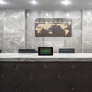 elam medidor co2 PRO COMPACT recepción hotel