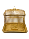 Gold Small Bird Cage