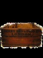"Vintage ""London"" Wooden Box"