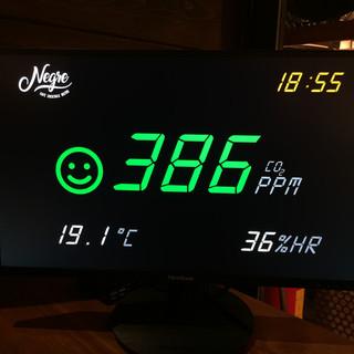 MEDIDOR DE CO2 PANTALLA