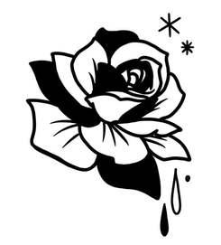 Rose pleureuse