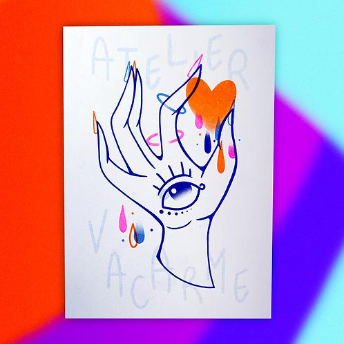 Print Riso A5 – Atelier Vacarme