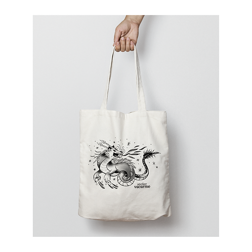 Tote bag Dragon
