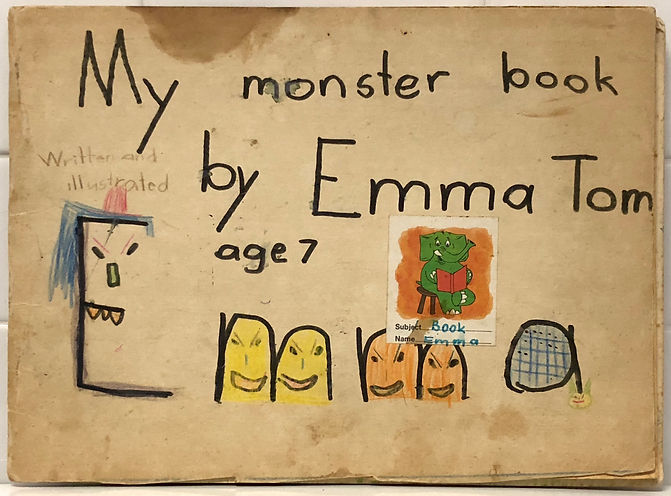 Emma's first book front cover.JPG