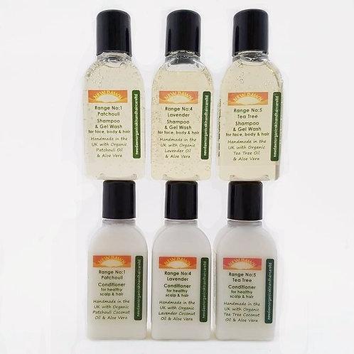 natural hair product samples