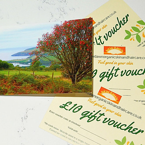 skincare gift card