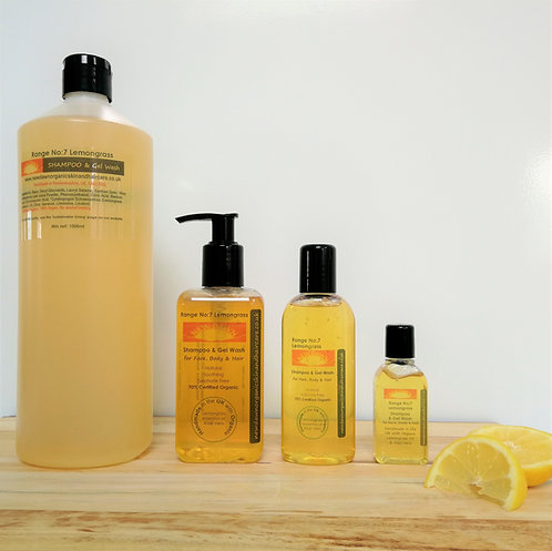 Lemongrass Shampoo & Gel Wash
