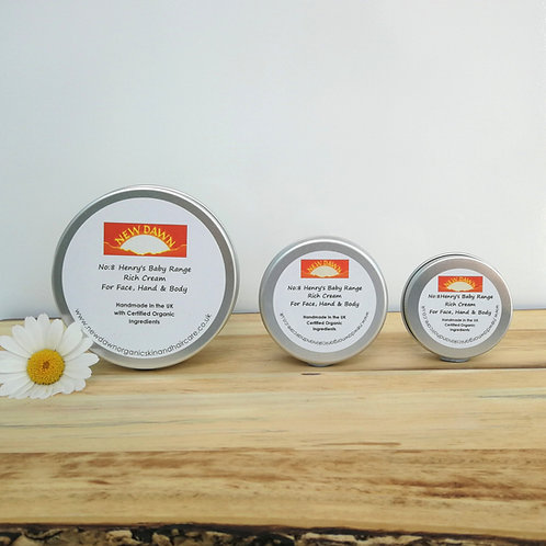 Henry's Baby Range Rich Cream