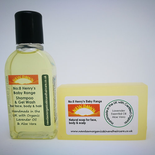 organic baby wash products