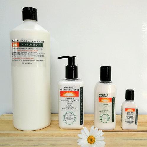 Aloe Vera Unscented Hair Conditioner