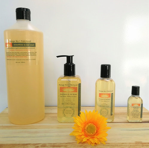 Patchouli Shampoo & Gel Wash