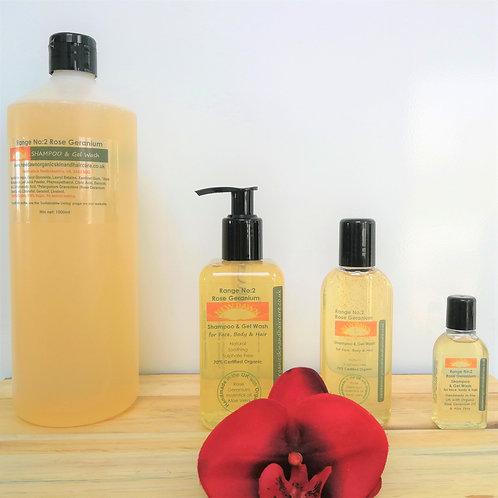 Rose Geranium Shampoo & Gel Wash