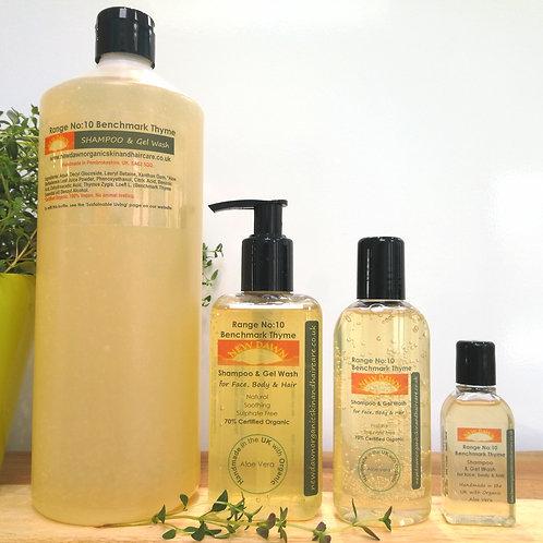 Benchmark Thyme Shampoo & Gel Wash