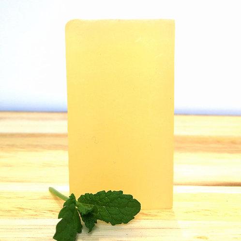 peppermint oil soap