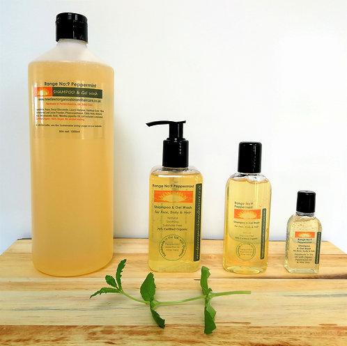 Peppermint Shampoo & Gel Wash