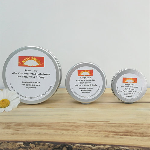 Aloe Vera Unscented Rich Cream