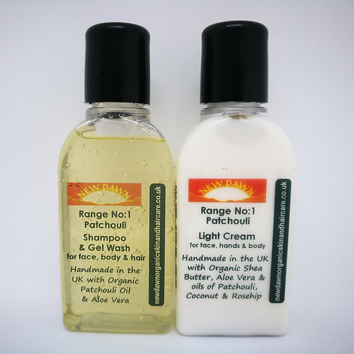 Natural Patchouli Skin Care