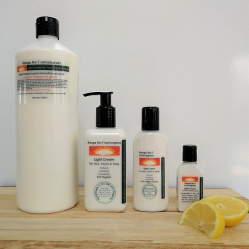 Lemongrass Light Cream