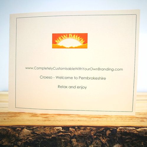 Free Welcome Cards - Customisable