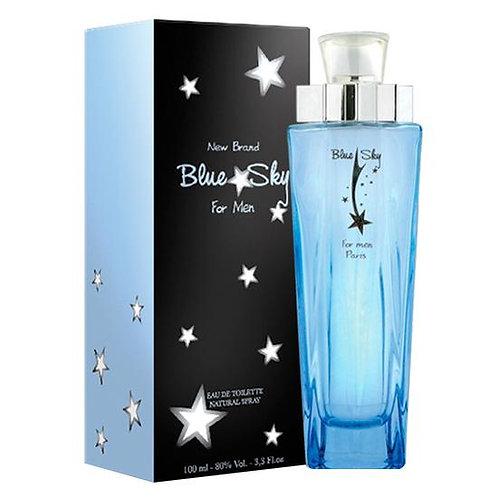 New Brand Blue Sky Men - Eau de Toilette for Men 100 ml