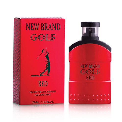 New Brand Golf Red - Eau de Toilette for Men 100 ml