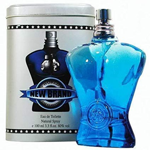 New Brand World Champion Blue - Eau de Toilette for Men 100 ml