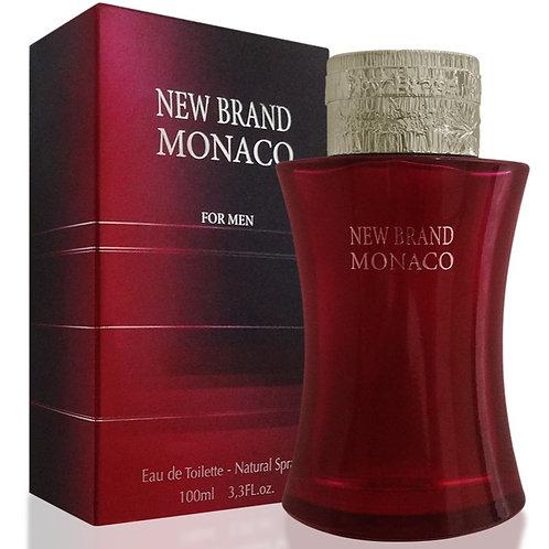 New Brand Monaco Red - Eau de Toilette for Men 100 ml