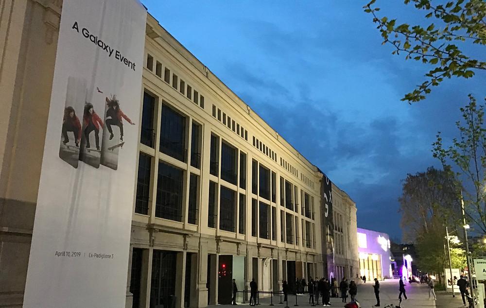 Samsung Galaxy A al Milano CityLife Palazzo delle Scintille