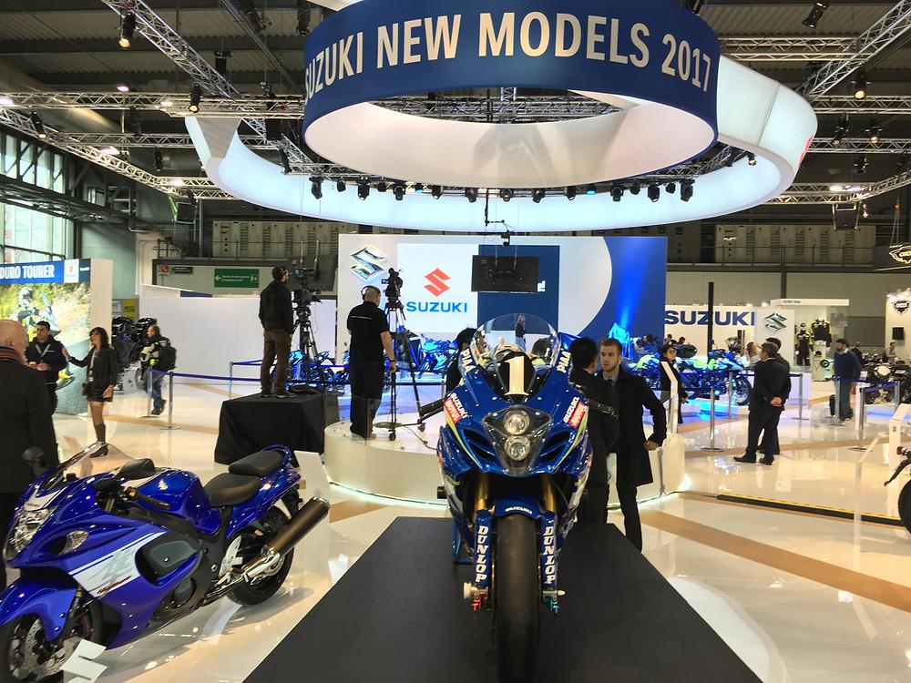 Suzuki all'EICMA di Milano