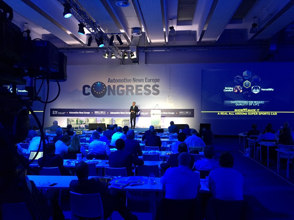 Automotive News Europe Congress Torino Mauto