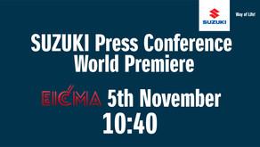 Suzuki press conference at EICMA 2019