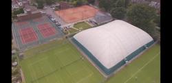 ELTC Ariel drone view