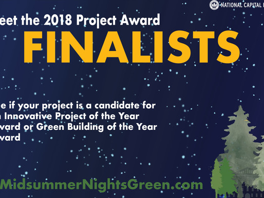 Announcing our 2018 Project Award Finalists
