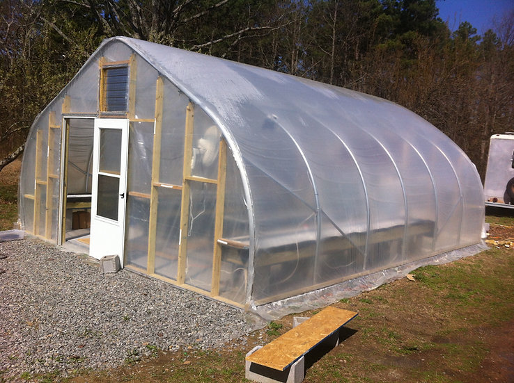Greenhouse - 18' x 24' commercial grade