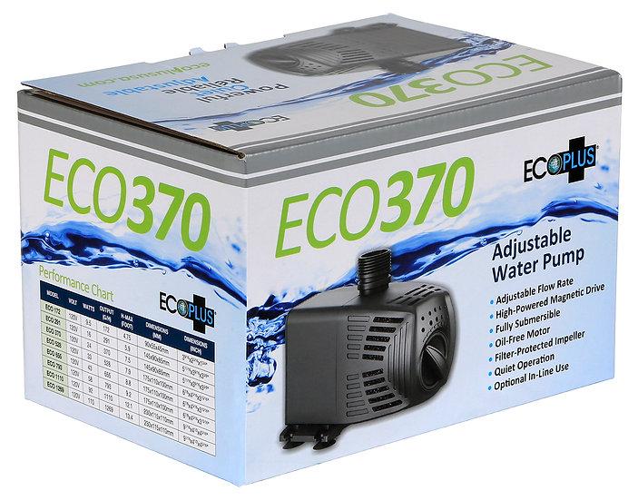 Eco 370 adjustable water pump