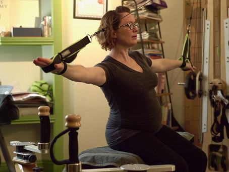 Pregnancy and the benefits of the Gyrotonic Method