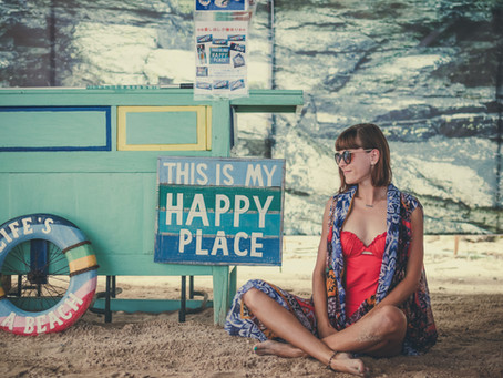 Looking to improve your mental health?  Find your happy place.